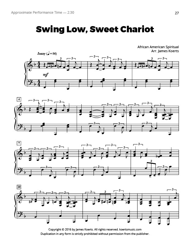 swinglowsweetchariot