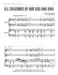 All Creatures of Our God and King – Piano Duet