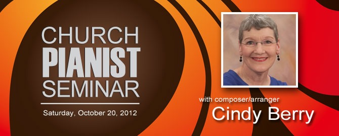 Church pianist seminar with Cindy Berry