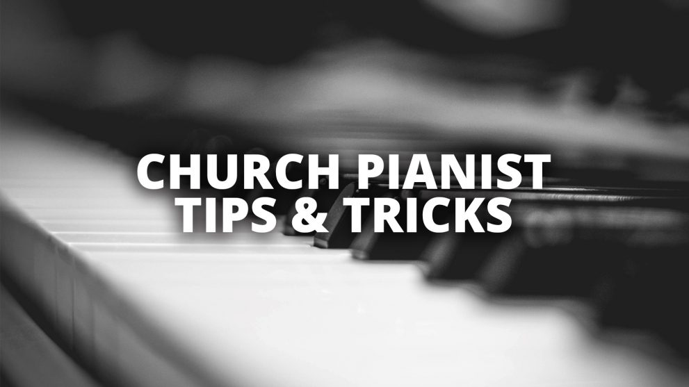 Creatively enhancing your worship service with these keyboard tricks