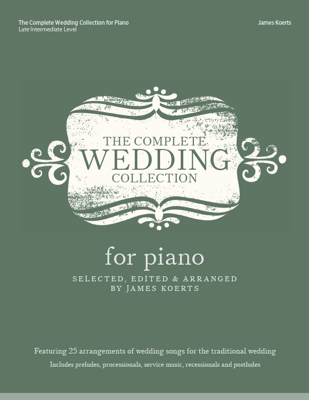 Piano collection for weddings