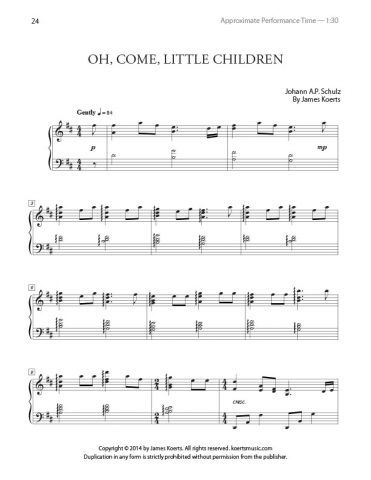 Oh, Come, Little Children