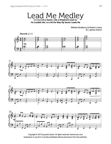Lead Me Medley