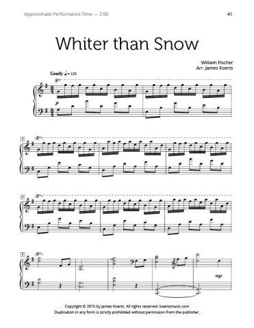 Whiter than Snow