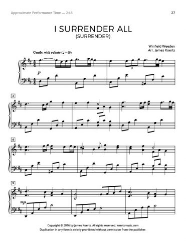 I Surrender All