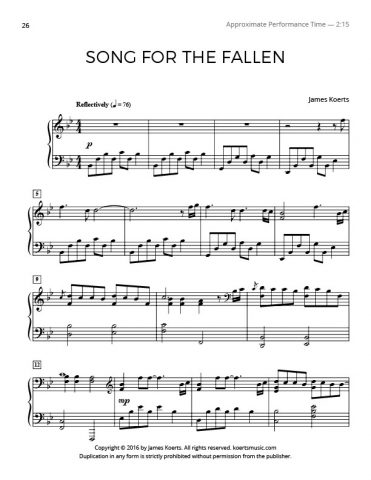 Song for the Fallen