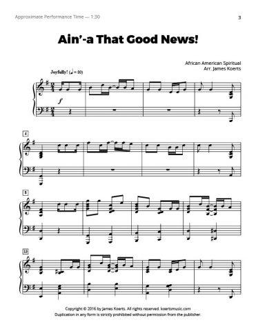 Ain'-a That Good News!