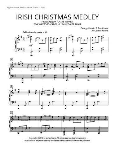Irish Christmas Medley