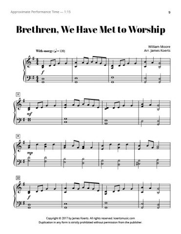 Brethren, We Have Met to Worship