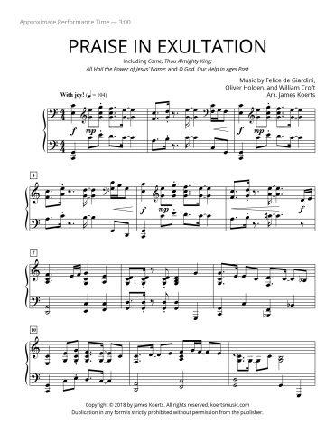 Praise In Exultation