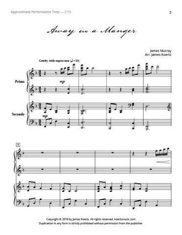 Away in a Manger (duet)