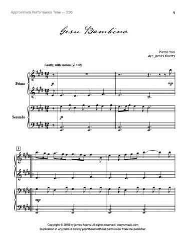 Gesu Bambino (duet)