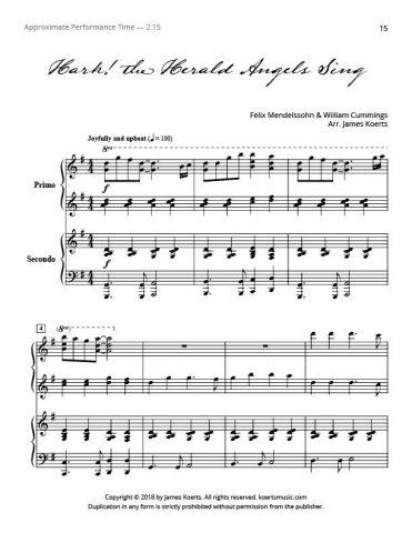 Hark! the Herald Angels Sing (duet)