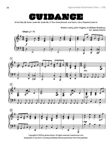 Guidance Medley