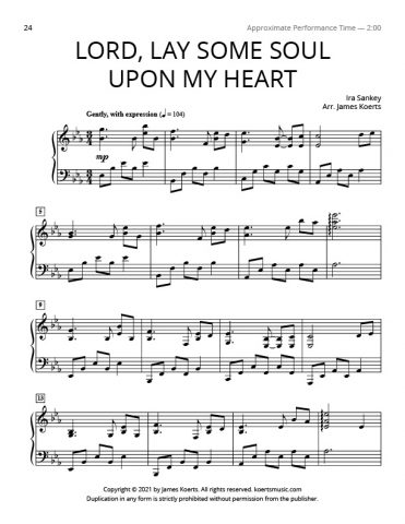 Lord, Lay Some Soul Upon My Heart